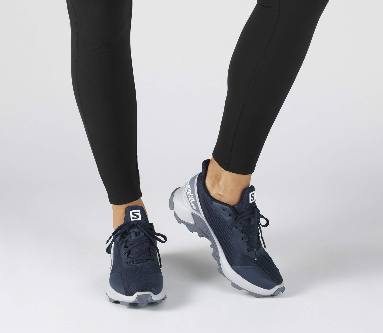 salomon women's alphacross trail running shoes 10