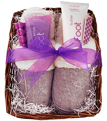 Vanilla Berry Spa Foot Basket