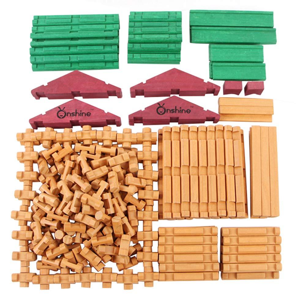 【特価】 子供の組み立てられた建物のブロック教育玩具、原始的な部族のキャビン木製の綴りビルディングブロックのおもちゃ(5歳以上) B07L344112 B07L344112, 老犬と介護のショップ わんケア:448a36a3 --- a0267596.xsph.ru