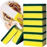10 piezas Esponja Limpieza de Platos Doble Cara Hogar Cocina Absorbente De Agua Esponja