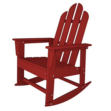 Amazon.com: Long Island Adirondack silla mecedora ...