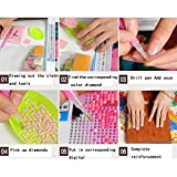 DIY 5D Diamond Painting by Number Kits, Crystal