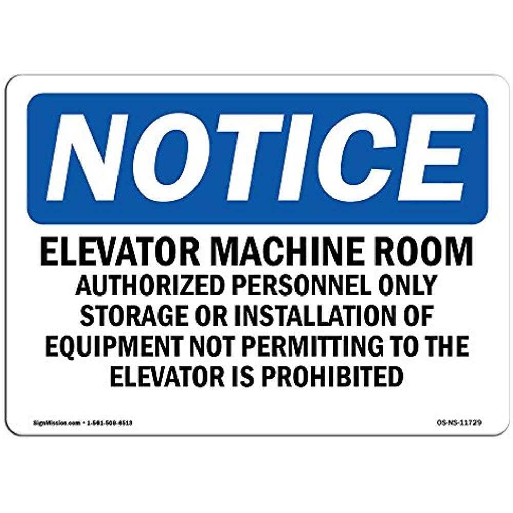 Ditooms Señales de Advertencia para Ascensor, habitación ...