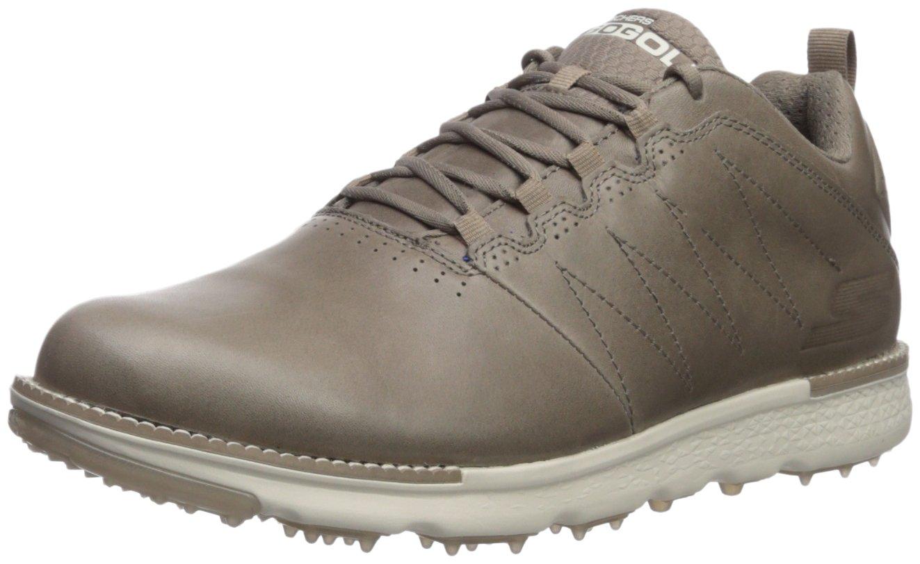Skechers Performance Men's Go Elite 3 LX Golf-Shoes,stone,7.5 M US