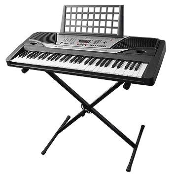 AW electrónica teclado de Piano 61 clave música clave board principiante 37 x 14 x 5