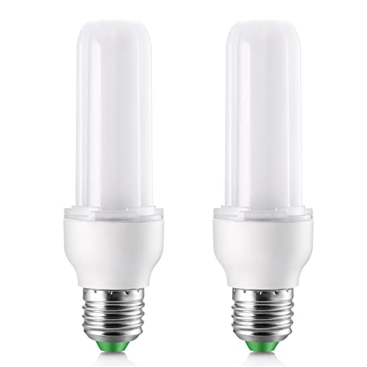 Elrigs LED Light Bulb Stick, 9W (75W Equivalent), Daylight (6000K), E26 Base, Pack of 2, 900lm Replacement for 18W CFL - - Amazon.com
