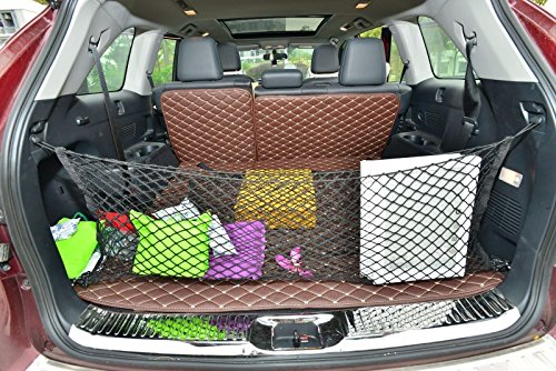 (RedWolf Envelope Style Cargo Truck Groceries Net with 4 Hooks for Honda Odyssey 1995-2016)