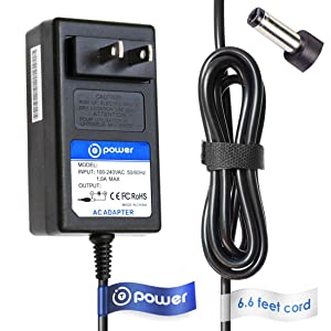 T Power 24V Ac Adapter Charger Compatible with Vizio Soundbar VSB200 VSB205 VSB210 VSB200 VSB205 VSB210 Vizio VSB200 VSB205 VSB210 VSB206 VSB207 VSB210WS VHT215 VHT510 PN: 90012422801 Speaker Supply