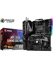 MSI Performance Gaming AMD Ryzen 2ND & 3rd Gen X570 AM4 DDR4 HDMI PCIe 4 M.2 USB 3.1 CFX WiFi 6 On Board Graphics ATX Motherboard (MPG X570 Gaming Edge WiFi)