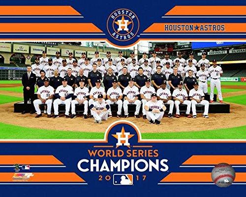 Houston Astros 2017 World Series Champions Team Photo (Size: 8