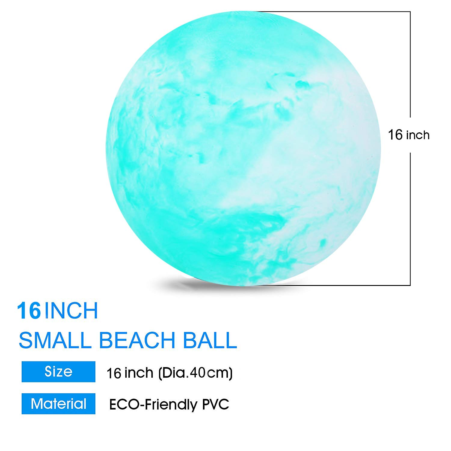 Movard Beach Ball Bounce Ball Pool Kids Toys Floats Party with Inflatable Ball