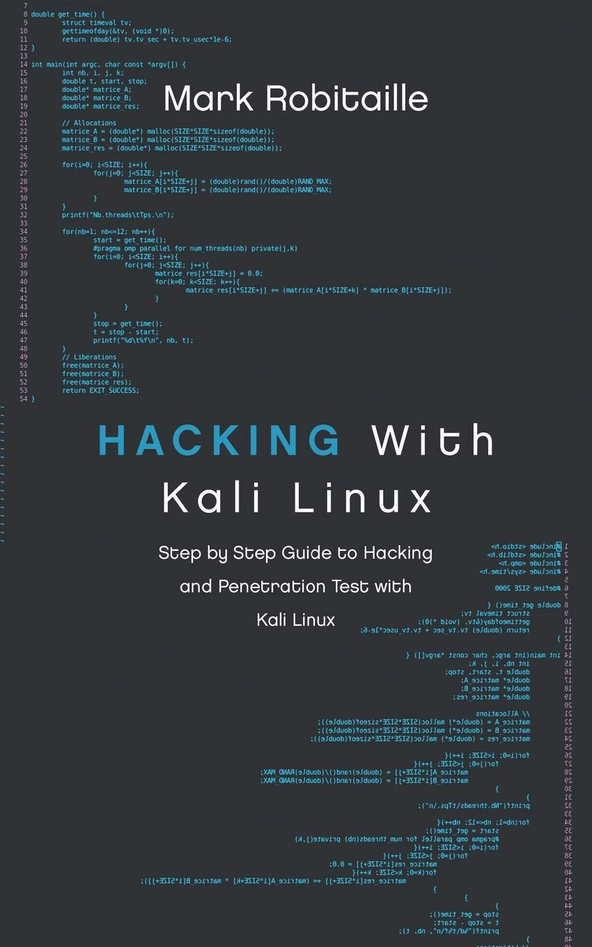 Amazon com: Hacking With Kali Linux: Step by Step Guide to