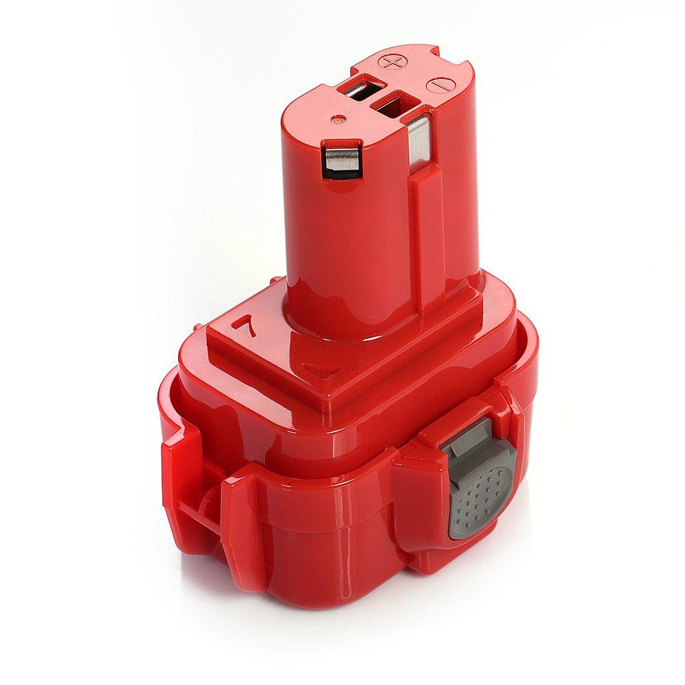 Powerextra 9.6V 2500mAh Ni-MH Rechargeable Replacement Power Tools Battery for Makita BMR100 Makita ML903 Makita 6000 Series Makita DA Series MA9120-20