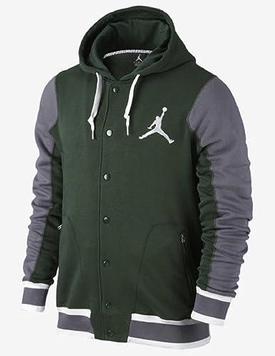Nike - Mode H - Chaqueta Chaquetas Jordan Varsity, Verde ...