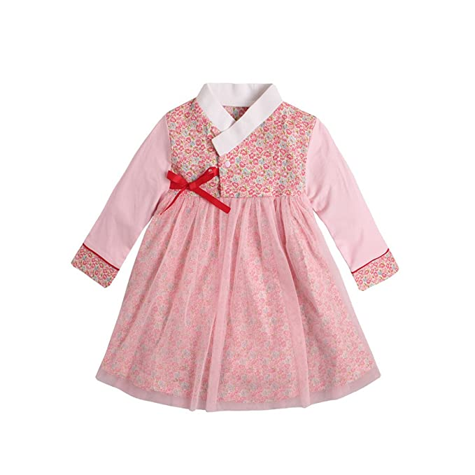 d16430e78 Amazon.com  PAUBOLI Baby Girl Korean Clothes Long Sleeve Romper ...
