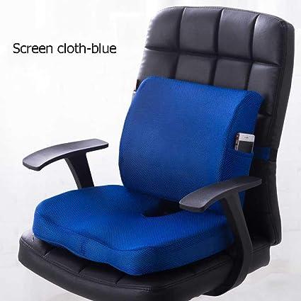 Cojín de espuma viscoelástica para asiento y respaldo ...