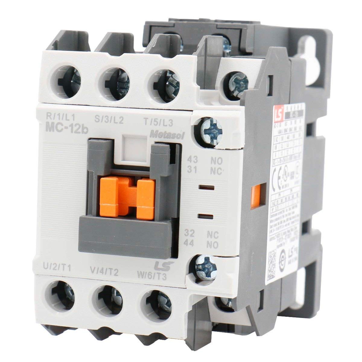 Baomain MEC Magnetic AC Contactor MC-12b 110V AC 50/60Hz 1a1b DIN Rail UL