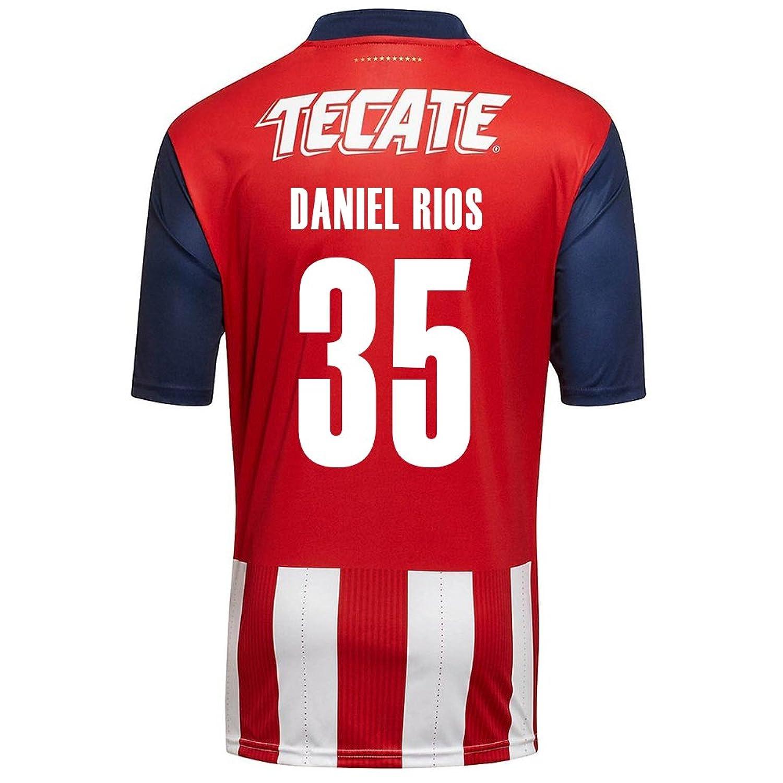 Puma Daniel Rios # 35 Chivas Guadalajara Home Soccer Jersey 2016 / 17 B01MDTM5RRS