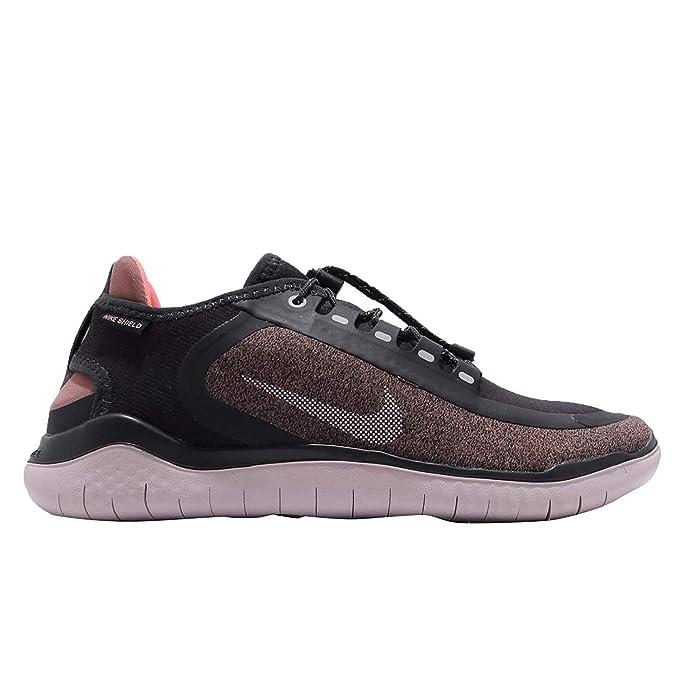 | Nike Women's Free Run 2018 Shield Oil Grey