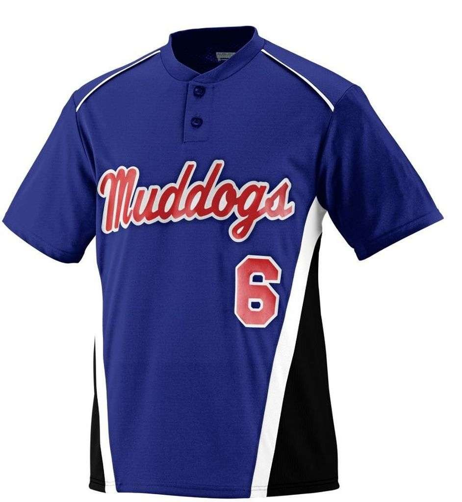 Augusta Sportswear Boys ' RBI野球ジャージー B00E1YUDTO Medium パープル/ブラック/ホワイト パープル/ブラック/ホワイト Medium