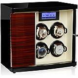 Modalo Timeless MV3 Uhrenbeweger für 6 Automatikuhren in makassar beige 3006623