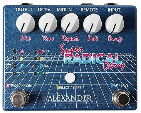 Alexander Pedals Super Radical Delay (Alexander Delay)