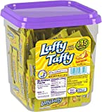 Laffy Taffy by Wonka Banana Flavor 145 Piece Tub, 3.08 LB