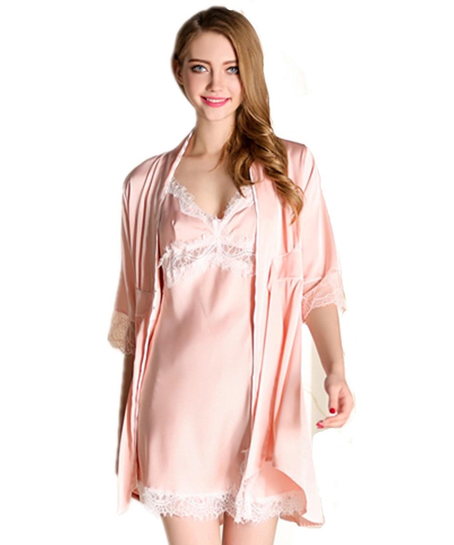 pretty nice 6dadf 9082a 50%OFF Kenmont Träger Nachthemd Morgenmantel Kimono ...