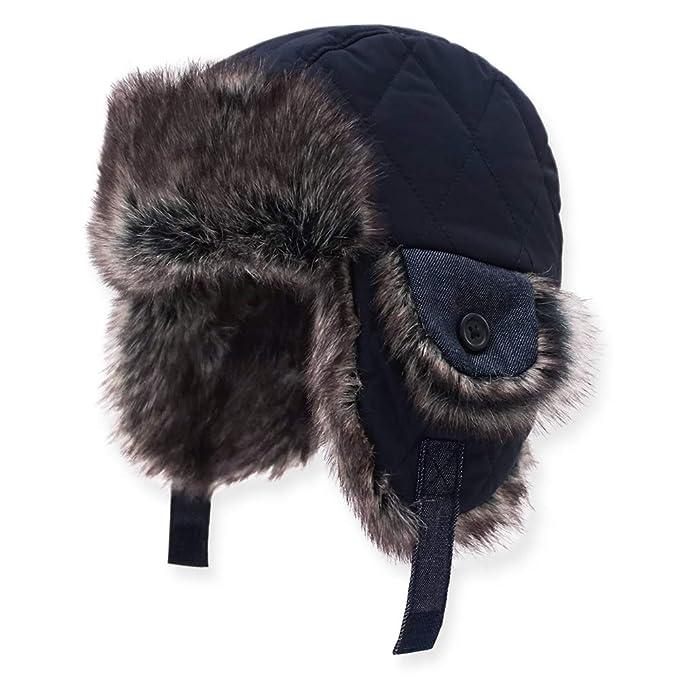 Keepersheep Baby Boy Ushanka Earflap Winter Trooper Hat Cap 840d9b3bfa2