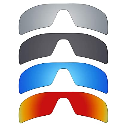 8925bf0ea7 Image Unavailable. Image not available for. Color  Mryok 4 Pair Polarized  Replacement Lenses for Oakley ...