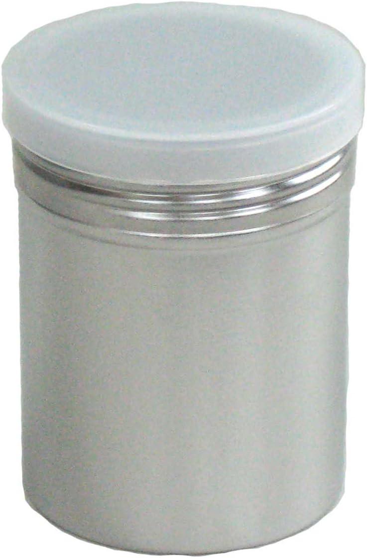 遠藤商事 SA18-8パウダー缶 (アクリル蓋付) 大