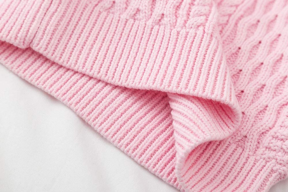 Lurryly❤Baby Girls Boys Knitted Sweater Kids Warm Tops Clothes Clothing Outfits Apparel 1-6T