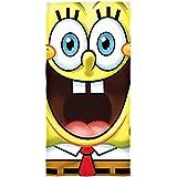 Spongebob Big Face Cotton Beach Towel