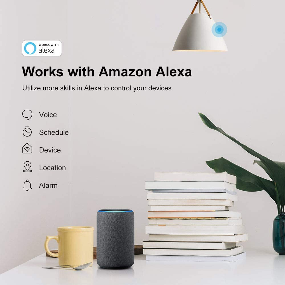,Works with SmartThings Hub and Control via SmartThings APP,10A SONOFF BASICZBR3 Zigbee Smart Switch,Compatible with  Alexa Alexa APP /& Voice Control