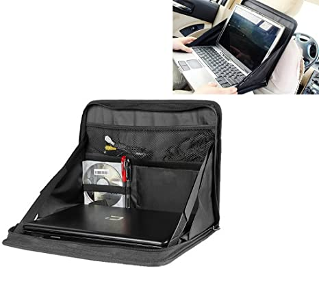 E-Bestar plegable asiento trasero de coche de almacenamiento organizador soporte de mesa ordenador portátil