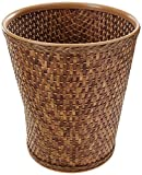 Lamont Home Carter Round Wastebasket, Cappuccino
