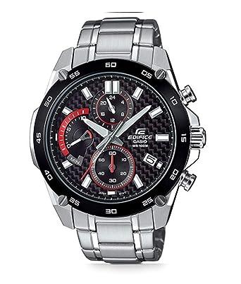 Casio Reloj Analogico para Hombre de Cuarzo con Correa en Acero Inoxidable EFR-557CDB-1AVUEF: Amazon.es: Relojes