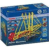 Fischertechnik Advanced Power Machines Kit, 1400-Piece