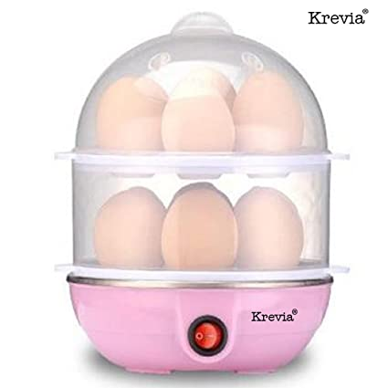 Buy Krevia Double Layer 14 Eggs Large Capacity Multifunction Egg ...