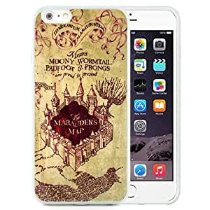 Beautiful And Unique Designed Case For iPhone 6 Plus 5.5 Inch TPU With Harry Potter Marauders Map (2) Phone Case