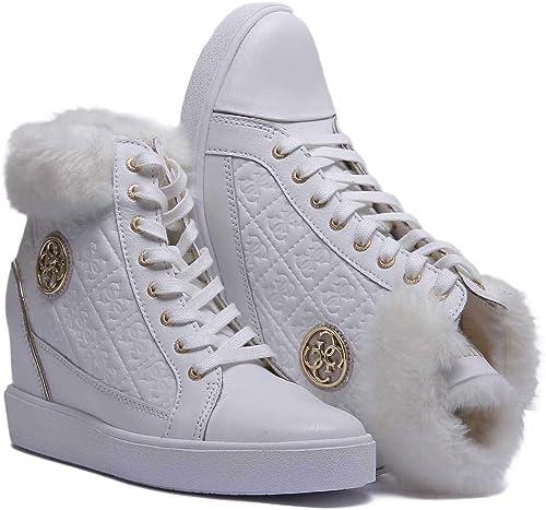 Guess FLFRR3 LEP12 Zapatos Mujeres Blanco 36: Amazon.es