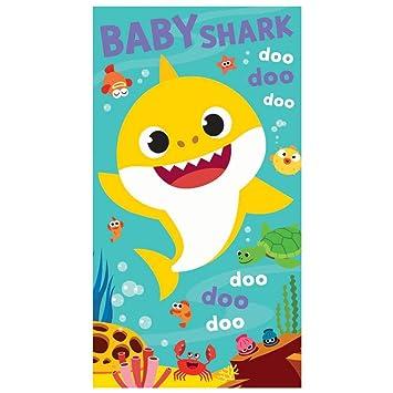 Amazon.com: Tarjeta de cumpleaños de tiburón para bebé ...