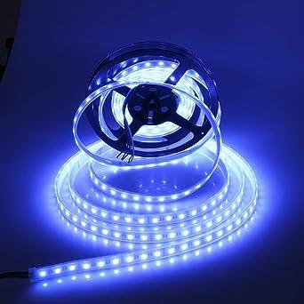 1m 5m 5050 Led Strip Streifen Lichterkette band RGB Rot Grün Blau Warm Weiß 12V
