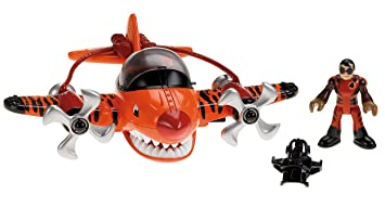Fisher Price Imaginext Sky Racers Flying Tiger Amazon Es Juguetes