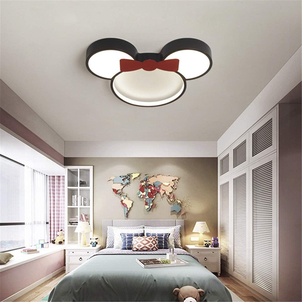 LBMY Kinderdeckenleuchte LED-Deckenleuchte kreative Neue Dekoration Kinderzimmerlampe,A,D50*6cm