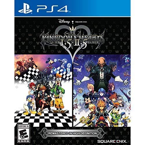 Kingdom Hearts HD 1.5 + 2.5 ReMIX - PlayStation 4 (Kingdom Hearts 2 Codes For Action Replay)