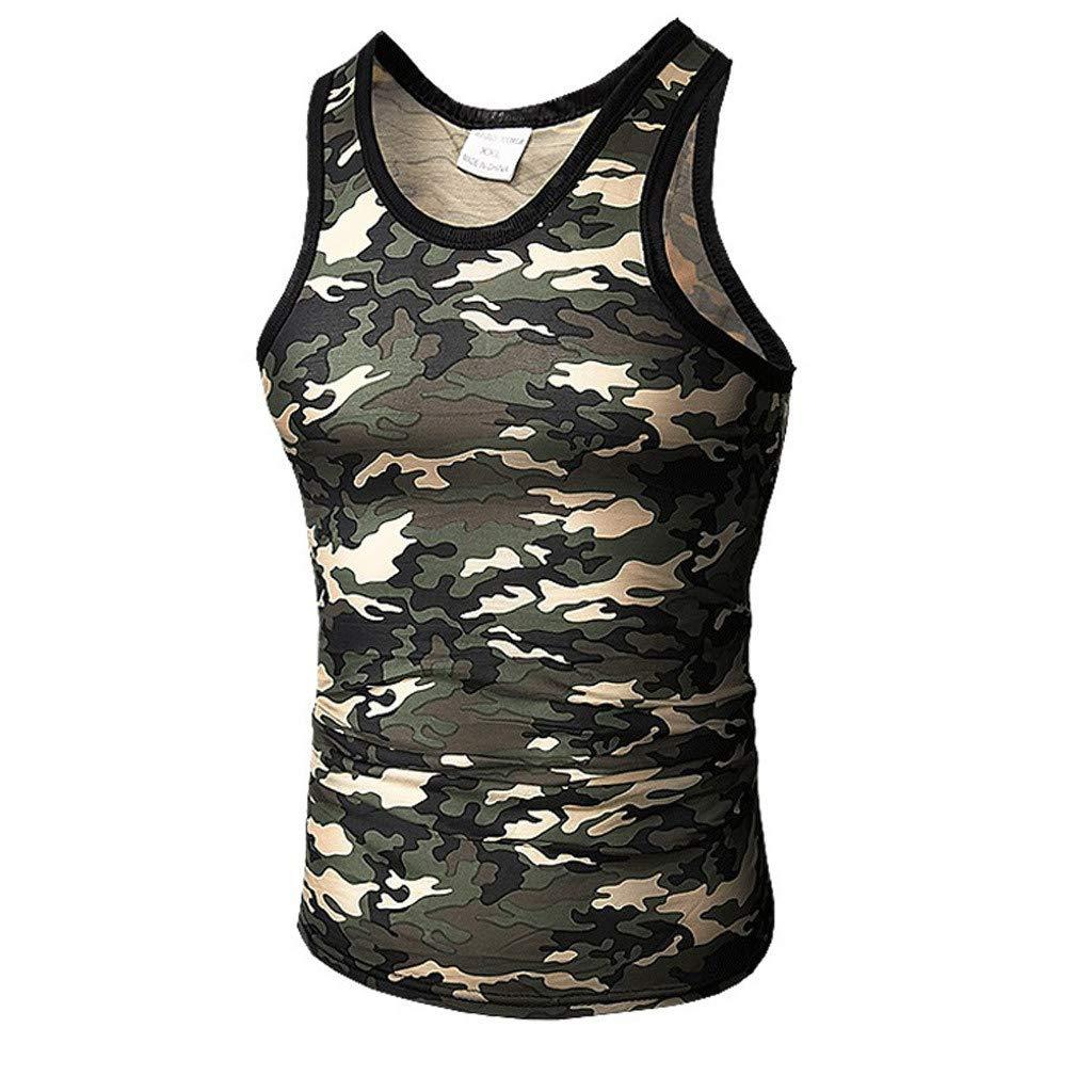 Pitauce Men's Sleeveless Tees Workout Muscle Bodybuilding Tank Tops Shirts Sport Sweatshirts Gray