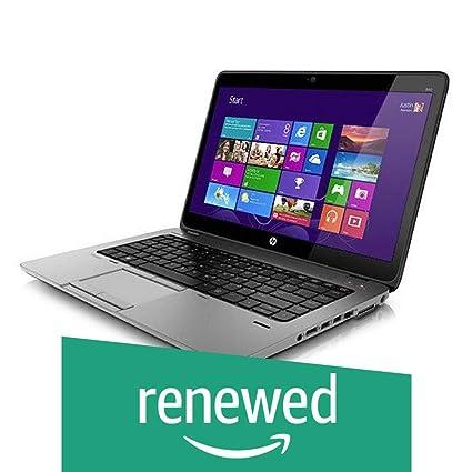 (Renewed) HP Elitebook 840 G1 14-inch Laptop (4th Gen Core  i5/8GB/256GB/Windows 10 Professional/Integrated Graphics), Black