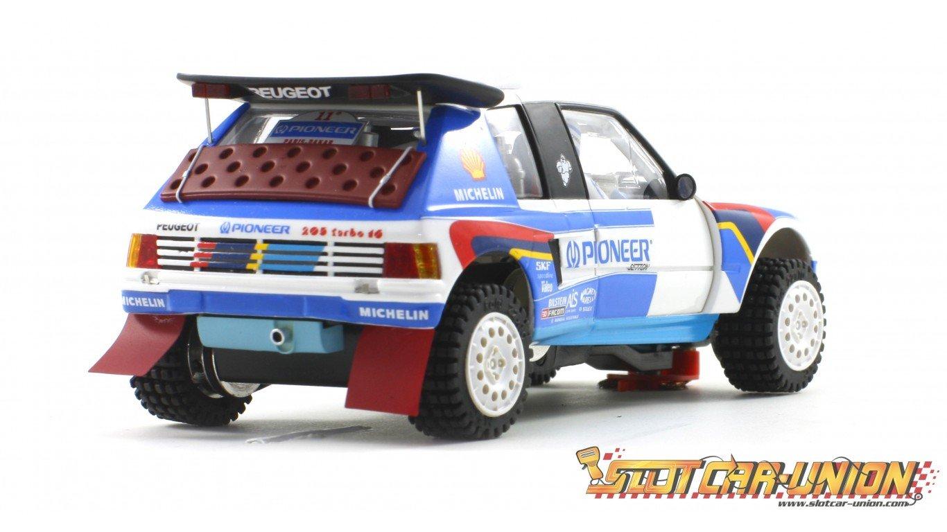 Scaleauto SC-6106 Peugeot 205 T16 Grand Raid Paris Dakar 1989 n.205 & n.207: Amazon.es: Juguetes y juegos
