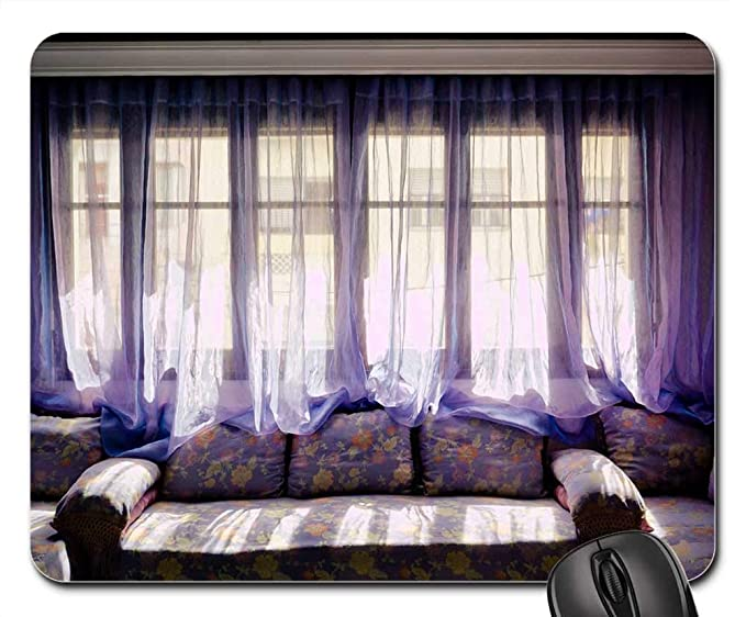 Amazon.com : Mouse Pads - Salon Moroccan Living Room Window ...